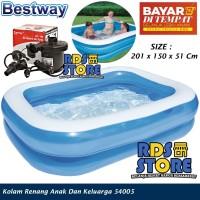Kolam Renang Anak Bestway Kotak Polos Besar JUMBO Family Pool 54005 - Kolam Saja, Hijau