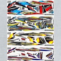 Sticker Striping Variasi Thailand Thailook Jupiter Z BURHAN 2004-2009l