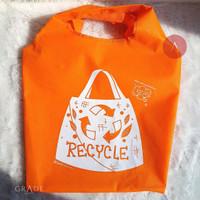 Tas Belanja Kantong Samping Eco Bag Shoping Bag RECYCLE BAGCU BAGGU