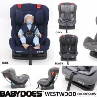 Carseat Baby Kursi Mobil Bayi Babydoes West wood CH LB 873SN