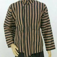 Baju Surjan/Lurik Atasan ukuran Jumbo/Adat batik jawa solo