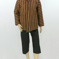 Baju Surjan Setelan Dewasa/Lurik/Batik Jawa adat Solo
