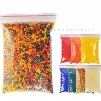 waterbeads Hidrogel Multicolor Murah - Mainan Sensory Water Beads Anak
