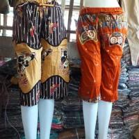 Celana Pendek Wanita / Celan Katun Strit / Celana Batik / Batik