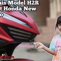Garnis Model H2R Honda New Vario Aksesoris Vario