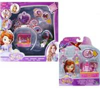 Kalung Sofia Disney princess sofia anting bando mainan ala polly pocke