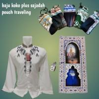 baju koko plus sajadah pouch traveling