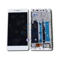 LCD TOUCHSCREEN OPPO R7S COMPLETE FRAME ORIGINAL - Putih