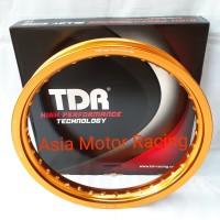 Velg TDR 185 Ring 17 Gold Emas Original Thailand