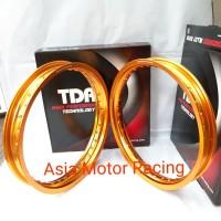 Velg TDR 185 215 ring 17 Gold Original Thailand 1 set