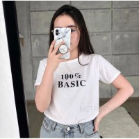 KAOS TUMBLR TEE 100% BASIC / JENNIE /ATASAN BAJU T SHIRT WANITA CEWEK