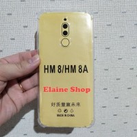 Anti Crack Xiomi Redmi 8 8A Pro Silicon Bening Jelly Anti Shock Putih