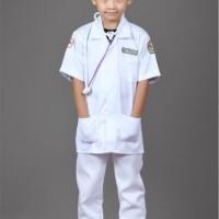 Baju-stelan-kostum profesi dokter cilik