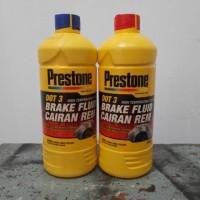 Brake Fluid/Minyak Rem Mobil/Motor Prestone DOT 3 ASLI (Merah/Bening)