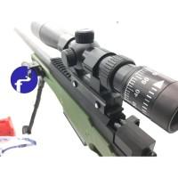 Mainan Anak Tembankan Sniper Magnum AWP Water Bullet Gun Kaca Mata