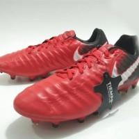 Sepatu bola Nike Tiempo Legacy III Red Fire Original
