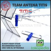 Antena TV Digital Titis TT1000 Digital + Kabel 15 meter + Konektor