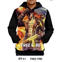 Jaket Hoodie Free Fire Games DEWASA #JFF-11
