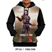 Jaket Hoodie Free Fire Games DEWASA #JFF-05
