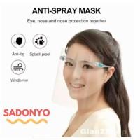 Face Shield Kacamata / Face Shield Nagita Anti Oil Mask Original BOX