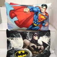 Bantal Jumbo Superhero Superman dan Batman