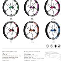 Whellset pelk sepeda R6 alloy pushbike / balancebike