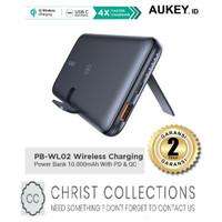 AUKEY POWERBANK WIRELESS CHARGING 10000MAH PD3.0 QC FAST CHARGING