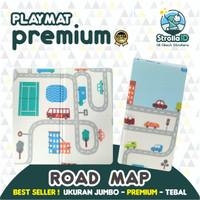 Baby Playmat Premium Anak Bayi Lipat Tebal 2cm Double Pad MURAH + Bag