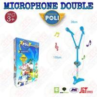 Mainan Mic Karaoke Double Poli Robocar Microphone Anak SNI