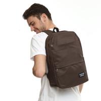 Martinversa TR20 Tas Ransel Pria Backpack Men Laptop Kanvas - Cokelat
