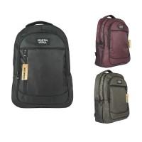Martinversa TP10 Tas Polo Pria Backpack Laptop Sekolah Kerja Nylon