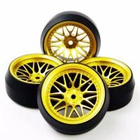 D07 RC drift tires, ban RC velg 1:10