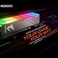 RAM GIGABYTE AORUS RGB DDR 4 3200Mhz