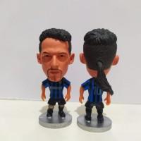 Roberto Baggio Inter - Soccerwe Kodoto Action Figure Bola