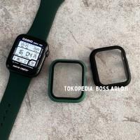 Rubber Case + Anti Gores Apple Watch IWO Series 1 2 3 4 5 38mm 44mm