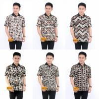 Kaos Kerah Batangan-Batik pria
