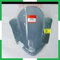 SYS MIKA VISOR WINDSHIELD VIXION 2013 2014 HITAM TRANSPARAN SMOKE