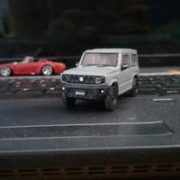 Aoshima Jimny JB74 Medium Grey (abu-abu)
