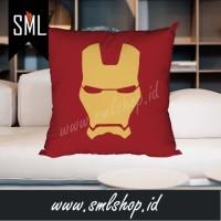 Bantal Sofa Motif Ironman 004 - Bantal Custom Kotak / Square Pillow