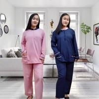 Baju Seragam Baby Suster Lengan Panjang Uniform Nanny Sitter Muslim XL