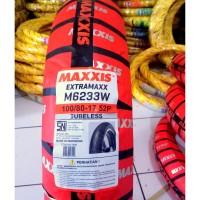 Paket Ban Luar Moge 100/70-17+130/70-17 Extramaxx Tubeless Maxxis