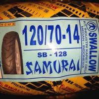 Ban Motor Swallow 120/70-14 Samurai Tubeless