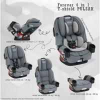 Graco 4ever 4 in 1 t-Shield Pulsar Car Seat Carseat Carsit Anak Bayi