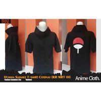 Uchiha Sasuke T-Shirt Cosplay (Kaos Naruto - KR NRT 01)