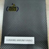 Sarung Kulit Jok Motor Polos Hitam Lubang Jarum Vario 51x85 cm