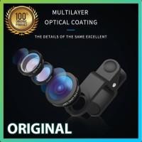 Lensa Zoom HP 3 in 1. Fish Eye, Ultra Wide, Macro