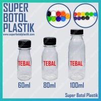 Botol Air Zam Zam ZamZam Obat Minyak 100ml 100 ml Plastik PET VCO cc
