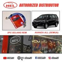 Selang Rem Hel Brake line Hel Toyota Avanza - ALL