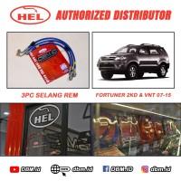 Selang Rem Hel Brake Line Hel Toyota Fortuner 2KD & VNT 07 - 15