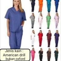 baju perawat rumah sakit/seragam perawat